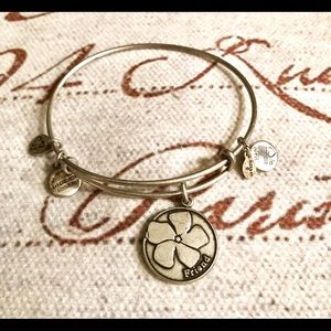 Alex and Ani Friend/Loyalty Charm Bracelet